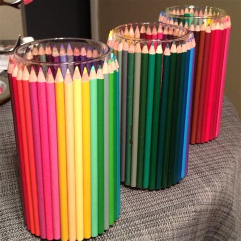 Colored Pencil Vase by Pin By K On Crafty