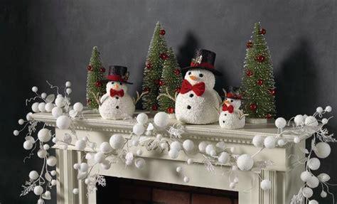 decoraci 243 n de chimeneas para la navidad sencillo y elegante