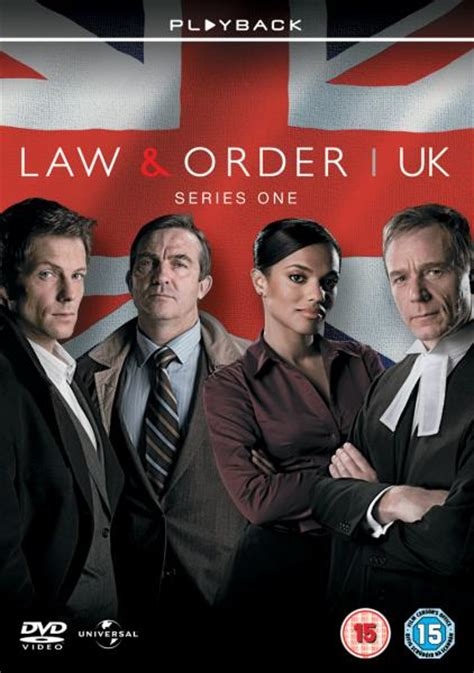 Law And Order Uk Series 1 Dvd Zavvi