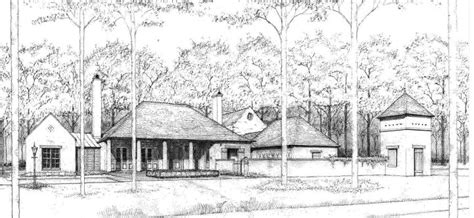 Creole Compound Ken Tate Exterior Pinterest Ken Tate House Plans