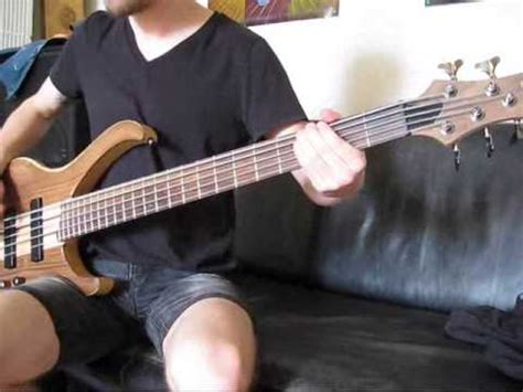 chelsea grin clockwork clockwork chelsea grin bass cover youtube