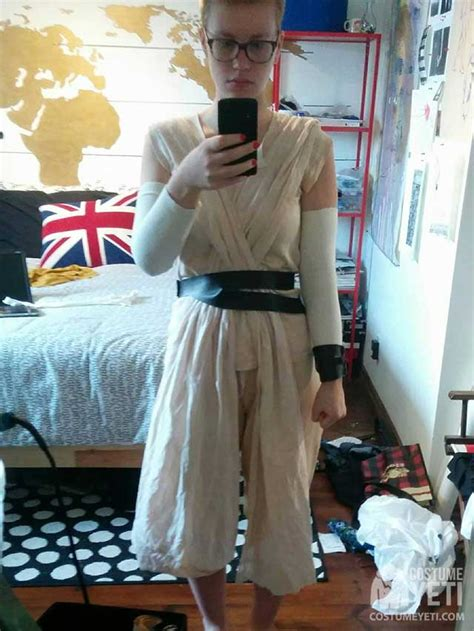 homemade star wars rey costume costume yeti
