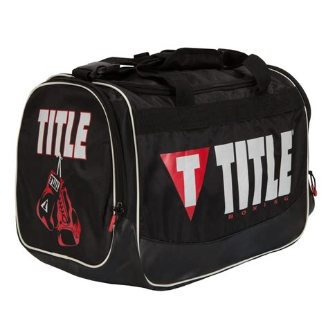 title ignite personal gear bag title boxing