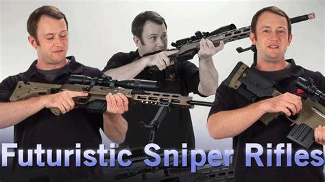 airsoft gi futuristic sniper rifles the aac 21 airsoft gi futuristic sniper rifles the aac 21