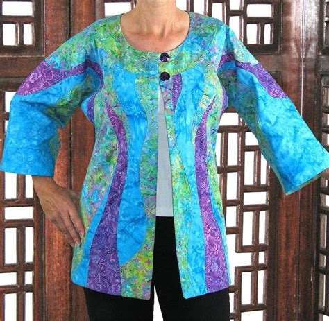Patchwork Clothing Patterns - 28 best images about quilted jackets on vests