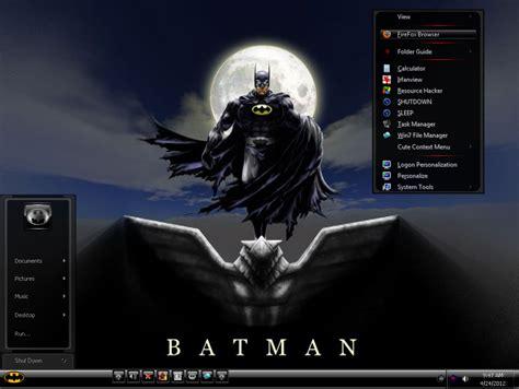 batman wallpaper for windows xp batman mini v2 theme for windows 7