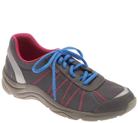vionic sneakers vionic by orthaheel alliance mesh lace up walking sneakers