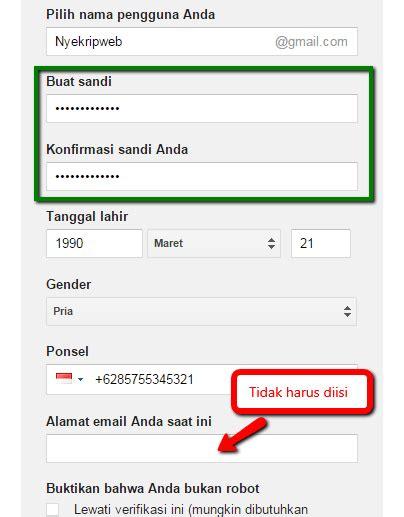 cara membuat gmail baru 2015 cara membuat email baru lengkap gambar nyekrip