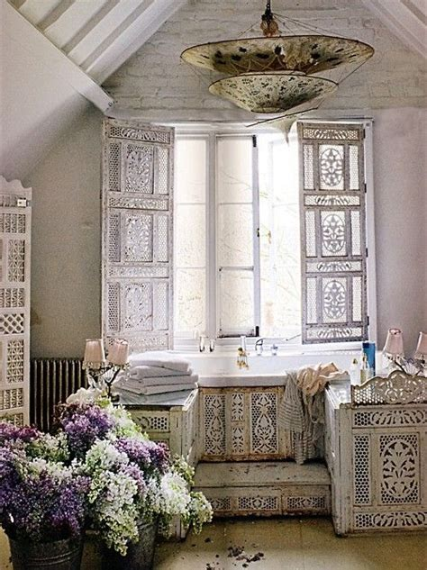shabby chic bathroom light fixtures epitome of shabby chic in the bathroom vintage country