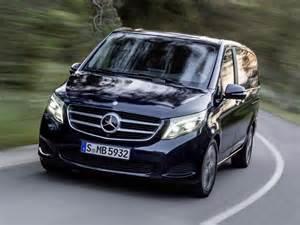 Mercedes V Mercedes V Klasse Im Test Kleinbus Mit Vielen Luxuselementen