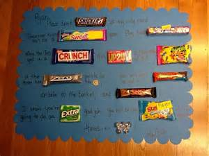 Basketbaal ideas good luck candy poster goodluck ideas candy gram