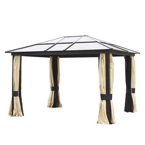patio canopy gazebo gazebos canopies pergolas sears