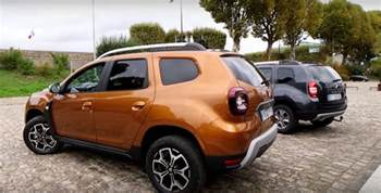 Renault Duster Seater 2018 Dacia Duster Faces Its Predecessor In Review