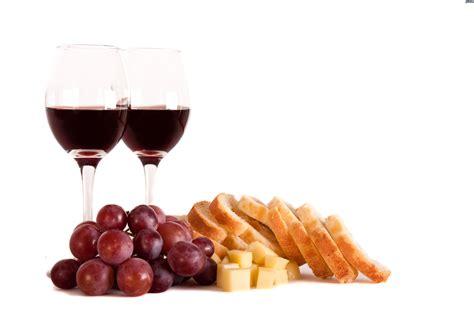 imagenes de uvas y pan vino