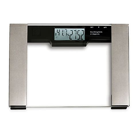 bmi bathroom scale digital extra wide bmi bathroom scale bed bath beyond