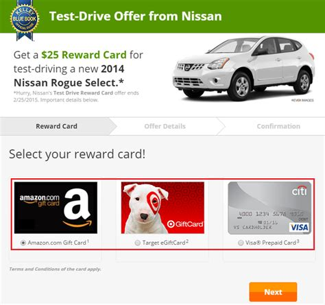 test drive gift card 2014 just b cause - Test Drive Car Gift Card
