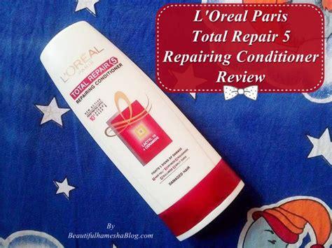 L Oreal Total Repair 170 Ml l oreal total repair 5 repairing conditioner review
