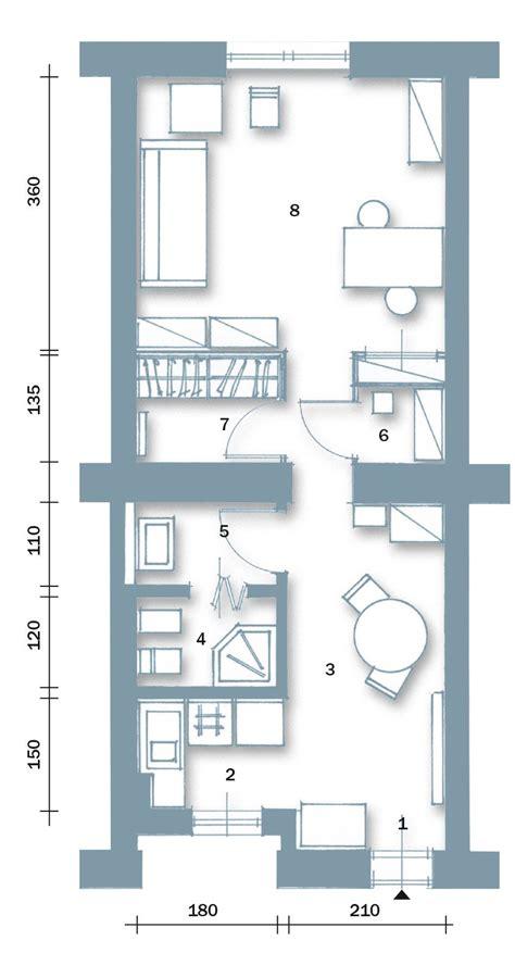 arredare monolocale 40 mq bilocale di 40 mq una casa fai da te cose di casa