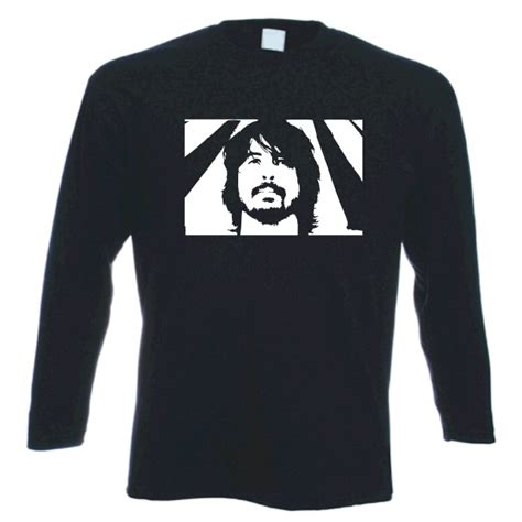Dave Grohl Sweater Hoodie dave grohl foo fighters sleeved rock t shirt ebay