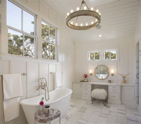modern farmhouse bathroom spaces modern organic interiors