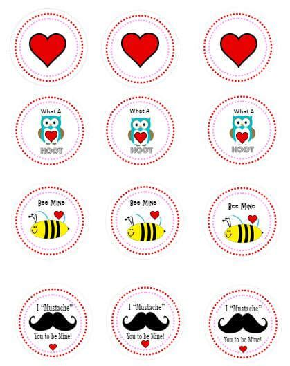 printable card toppers free printable valentine cards and printable valentine cupcake