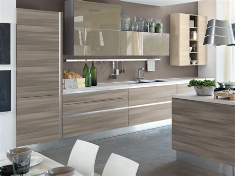 Wenge Kitchen Cabinets by Essenza Cucina Componibile By Cucine Lube