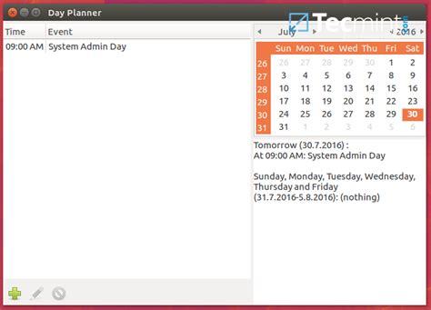 When Calendar Linux 6 Best Calendar Apps For Linux Desktop
