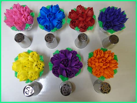 flower decorating tips russian flower tips candyland crafts