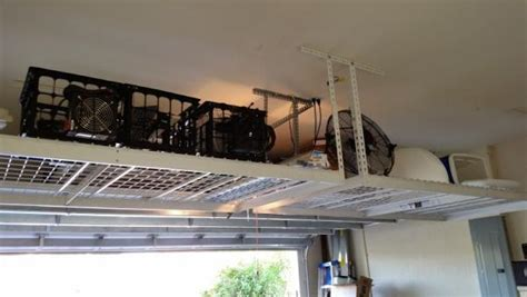 Garage Storage Ceiling Do It Yourself by Garage Ceiling Storage Load Capacity 19 Span Help Doityourself Community Forums