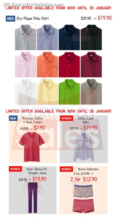 uniqlo singapore new year 22 30 jan 2014 uniqlo new year limited time