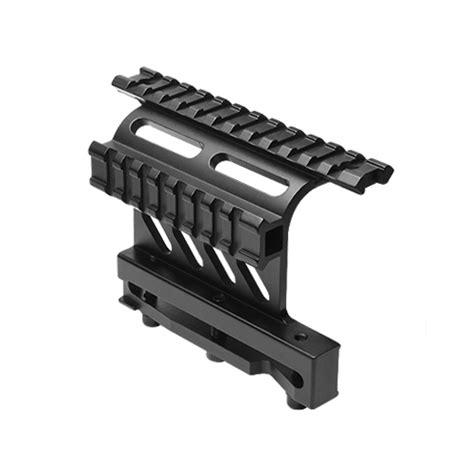 ak74 side mount scope rail ncstar side mounted ak47 ak74 mak90 saiga optics rail