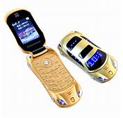 Car Model Flashlight Dual Sim Cards Mp3 Mp4 FM Radio