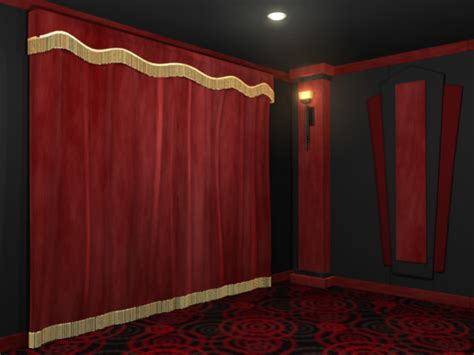 Curtains For Home Theater standard home theater curtains