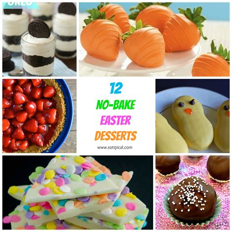 easy easter desserts 12 no bake easter desserts