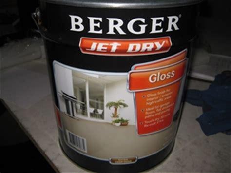 Berger Garage Floor Paint by Berger 10ltre Jet Concrete Paint Base Ideal For