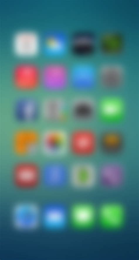iphone ios 7 wallpaper blurry iphone 5s wallpaper