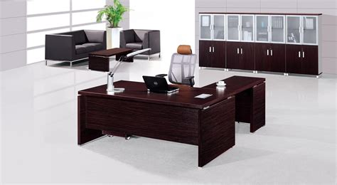 Design Office Desks Modern Executive Office Table Design Decobizz