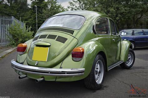 volkswagen  big beetle   miles