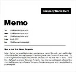 Memo Template For Pages by Sle Confidential Memo 7 Documents In Pdf Word
