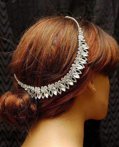 Headpiece Headband Chain wedding headband bridal headpiece chain
