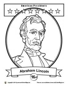 abraham lincoln coloring pages abraham lincoln monument coloring page