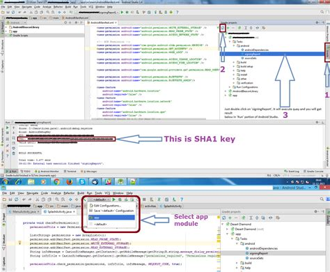 android studio debug layout get the sha 1 fingerprint certificate in android studio