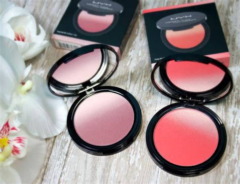 nyx ombre blush mauve me soft flush the feminine files