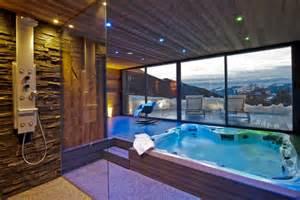 A Frame Cabin Kit ski chalet in la plagne 5 bedrooms jacuzzi hot tub