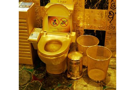 golden toilet 11 ridiculously priced items made from gold overheard