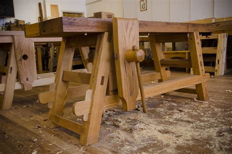 portable woodworking shop the portable moravian workbench at the woodwright s school
