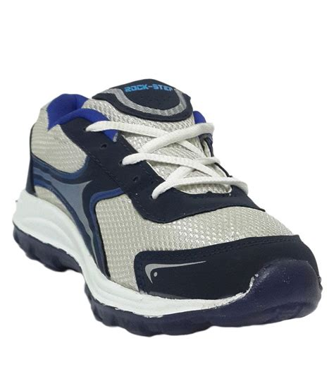 rock step white blue sport shoes price in india buy rock