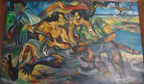 Hendra Gunawan Sang Pelukis Rakyat 1 seni lukis indonesia contoh hasil karya beberapa pelukis