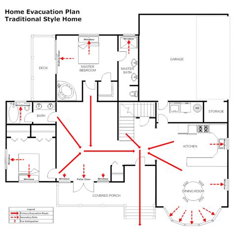 residential evacuation plan 3
