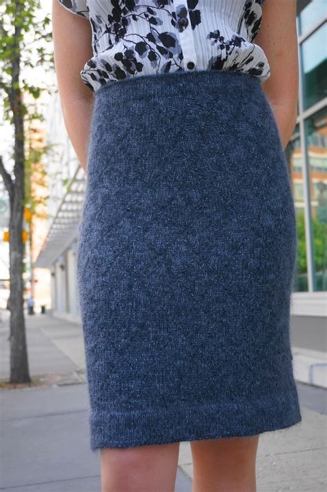 knit skirt pattern the helen pencil skirt knitting patterns and crochet